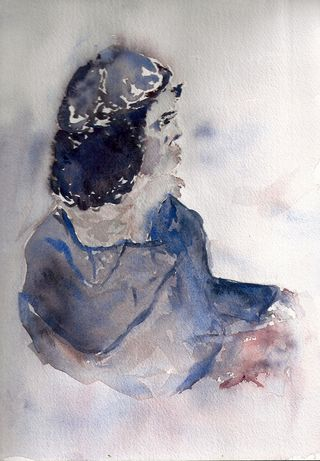 Watercolor by Sarah J. Buck