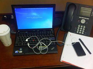 Katerina's desk